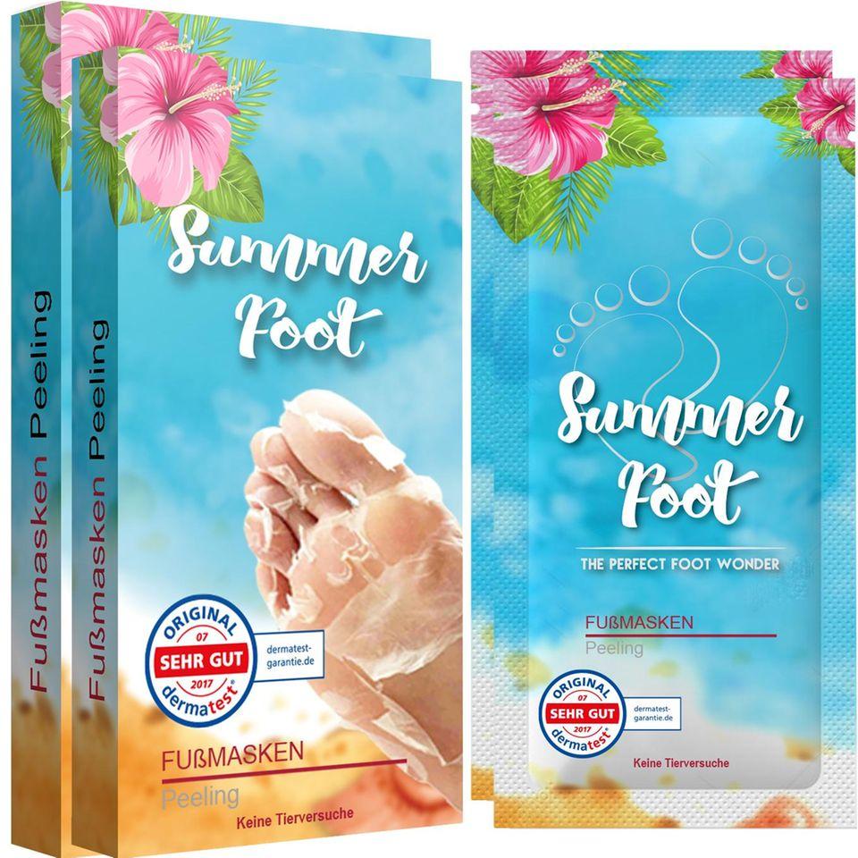 Doppelpack Summer Foot Premium für Frauen