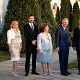 Erbprinz Peter von Serbien(geb. 1980)  Kronprinz Alexandervon Jugoslawien hatdrei Söhne von denen zweinoch zu haben sind. Als ältester Nachkommedes serbischen Thronprätendenten hat Prinz Peter zwar keine Aussichten auf eine Krone, aber optisch ist er durchaus auch so ein Hingucker.