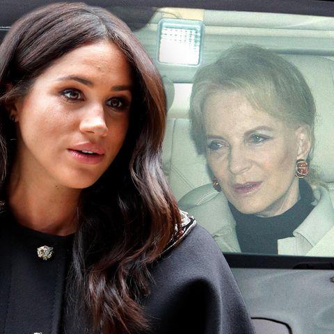 Herzogin Meghan + Prinzessin Michael von Kent