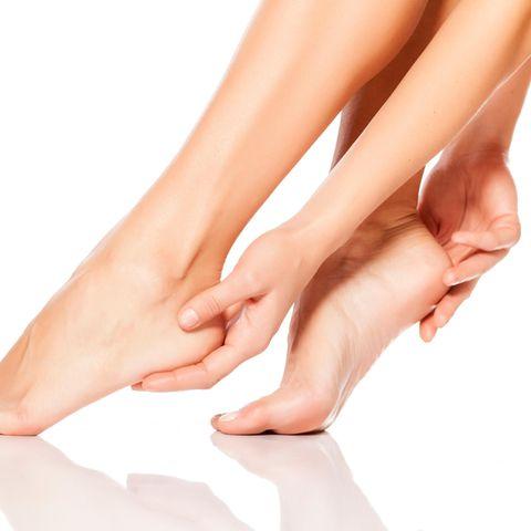 Hornhautfreier Fuß nach Fußpflege