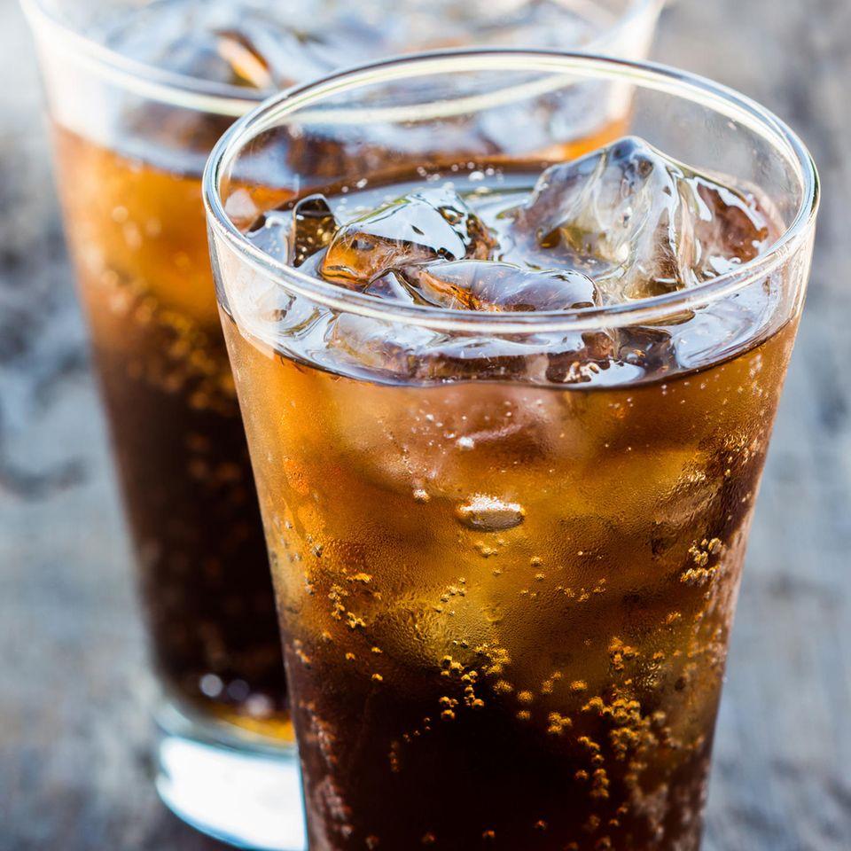 Coca Cola, kalte Cola, Erfrischungsgetränk