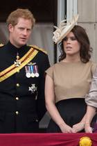 Prinz Harry + Prinzessin Eugenie