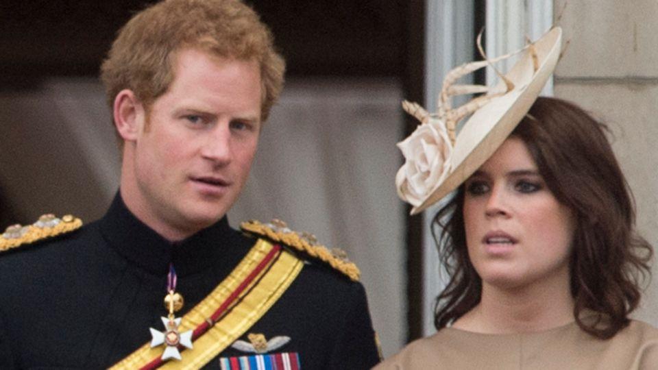 Prinz Harry + Prinzessin Eugenie