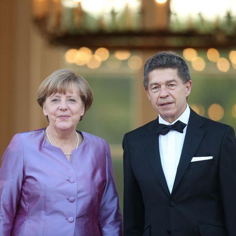 Beide brennen leidenschaftlich für ihre Berufe. Kanzlerin Angela Merkel und ihr Mann, der Wissenschaftler Joachim Sauer.