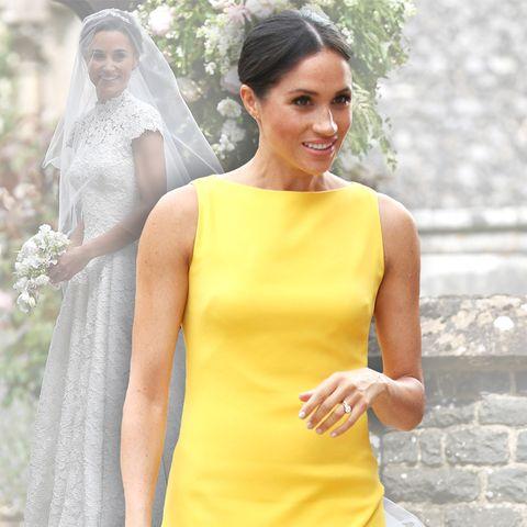Pippa Middleton hat Meghan Markle zu ihrer Hochzeit eingeladen, aber zur Trauung erschienen ist Meghan nicht.