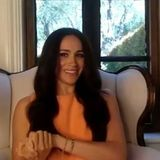 Meghan im Video-Interview mit Emily Ramshaw