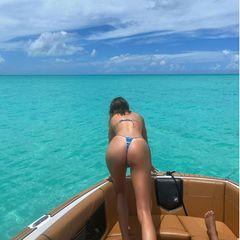 Kendall Jenner zeigt ihren Po