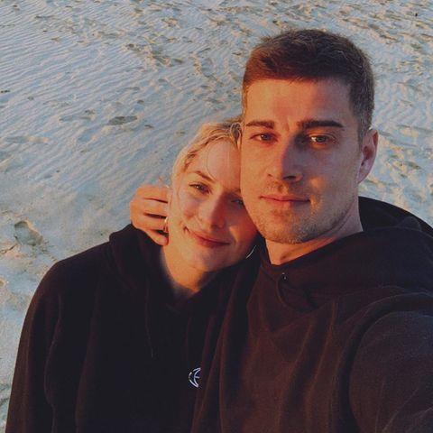 Lena Gercke und Dustin Schöne