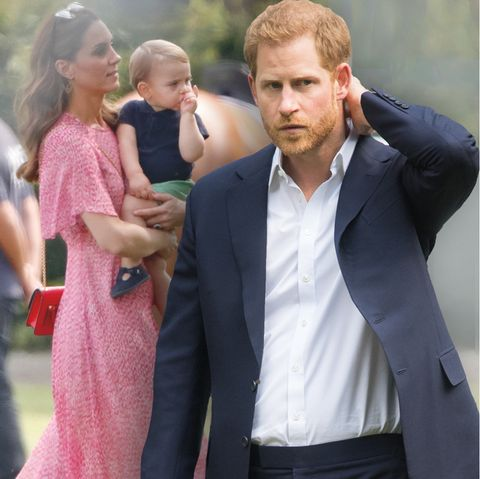 Herzogin CatherinejüngstesKind Prinz Louis hatte wenigKontakt mit Onkel Harry.