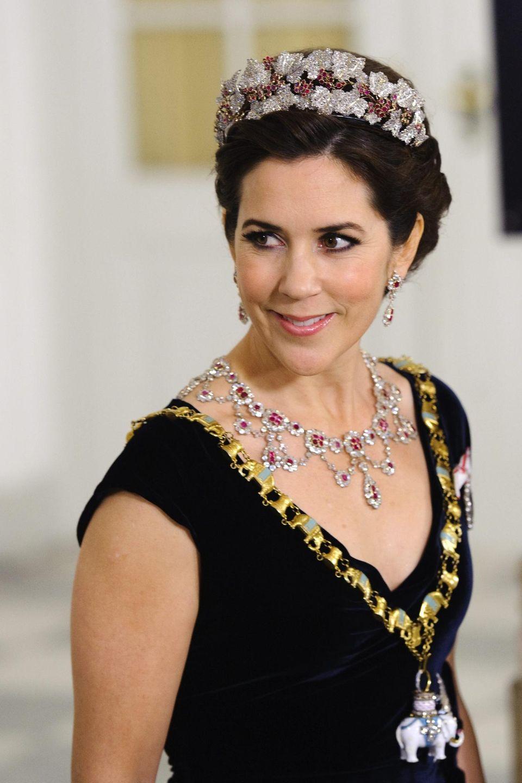Prinzessin Mary von Dänemark, Frau des Kronprinzen Frederik (*1972)