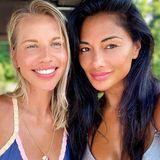 """Nicole Scherzinger besucht ihre Halbschwester Keala in Tennessee zu ihrem Geburtstag und gratuliert ihr mit diesem schönen Schwestern-Selfie und folgenden Worten auf Instagram: """"Ich liebe dich so sehr, Sissy, das Yin zu meinem Yang!"""""""