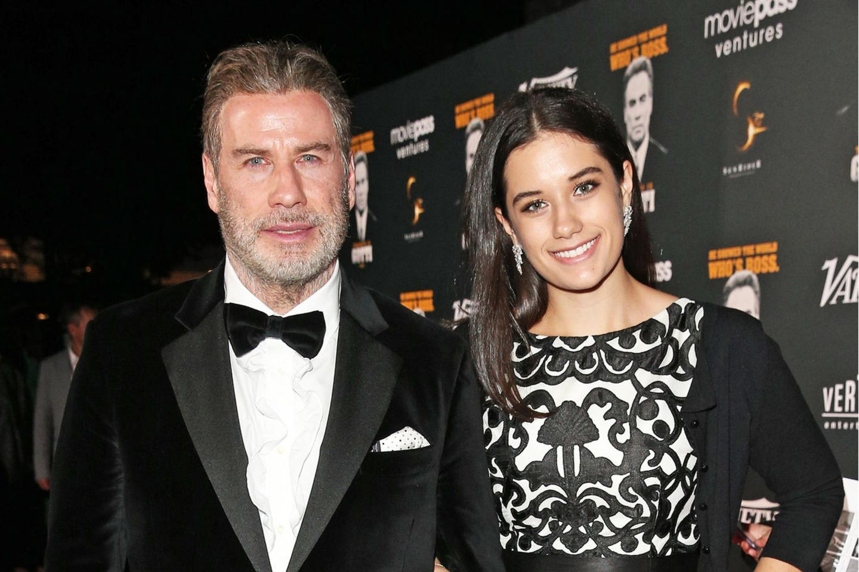 John Travolta und Tochter Ella Bleu