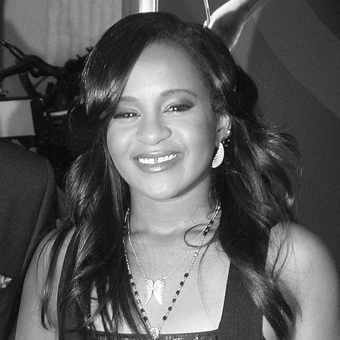 die 2015 verstorbene Bobbi Kristina Brown