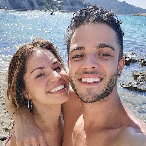 Christina Luft und Luca Hänni