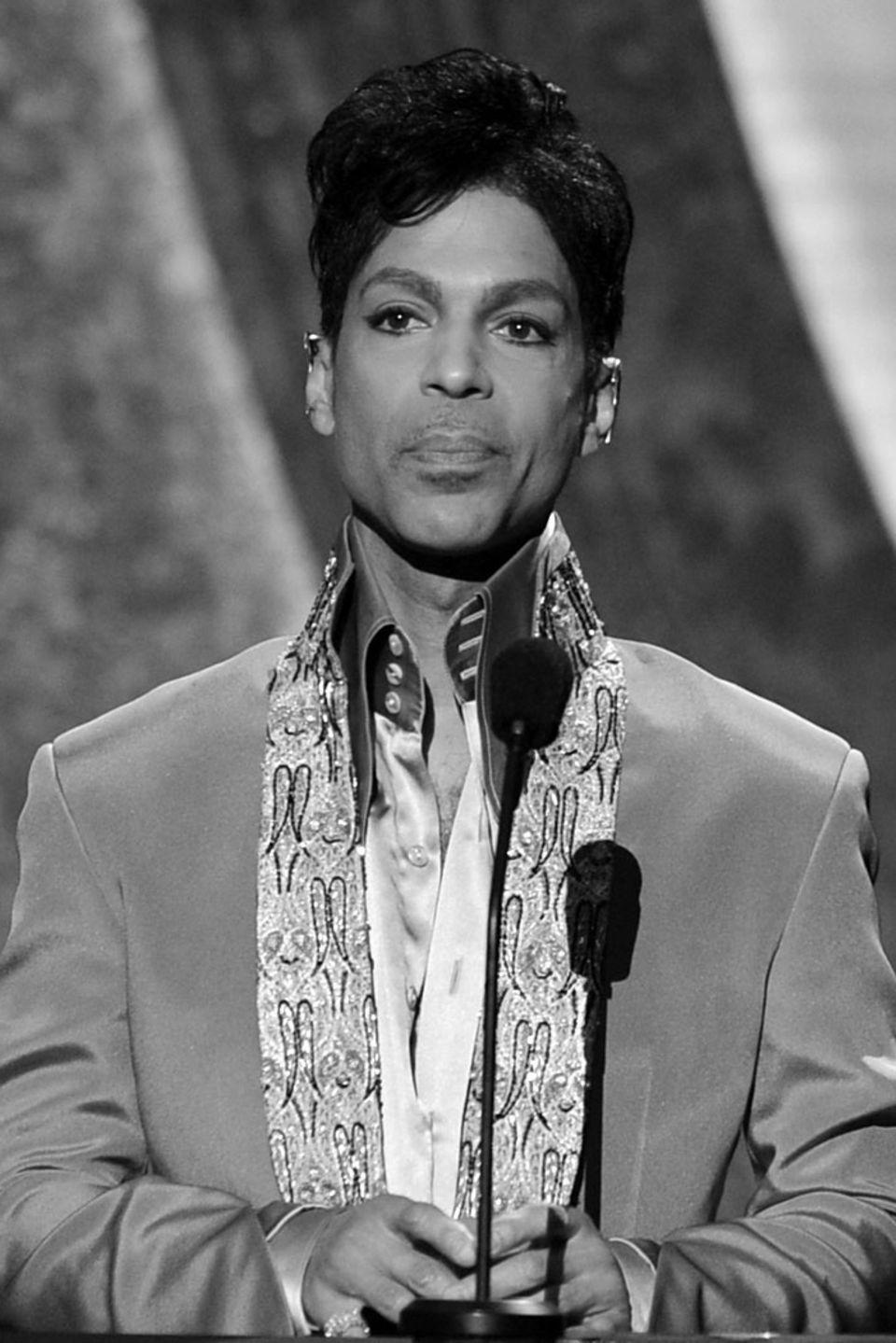 der 2016 verstorbene Prince