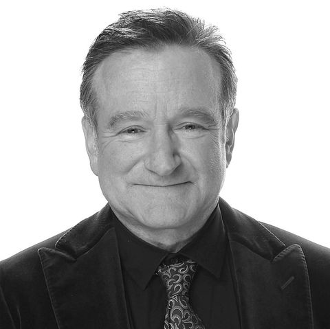 der 2014 verstorbene Robin Williams