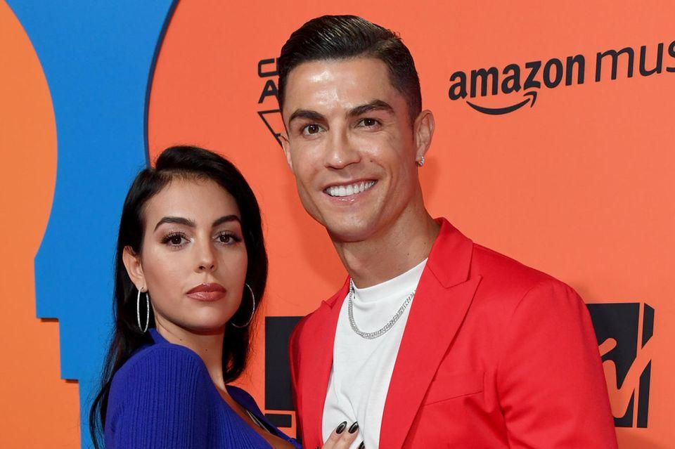 Christiano Ronaldo und GeorginaRodríguez