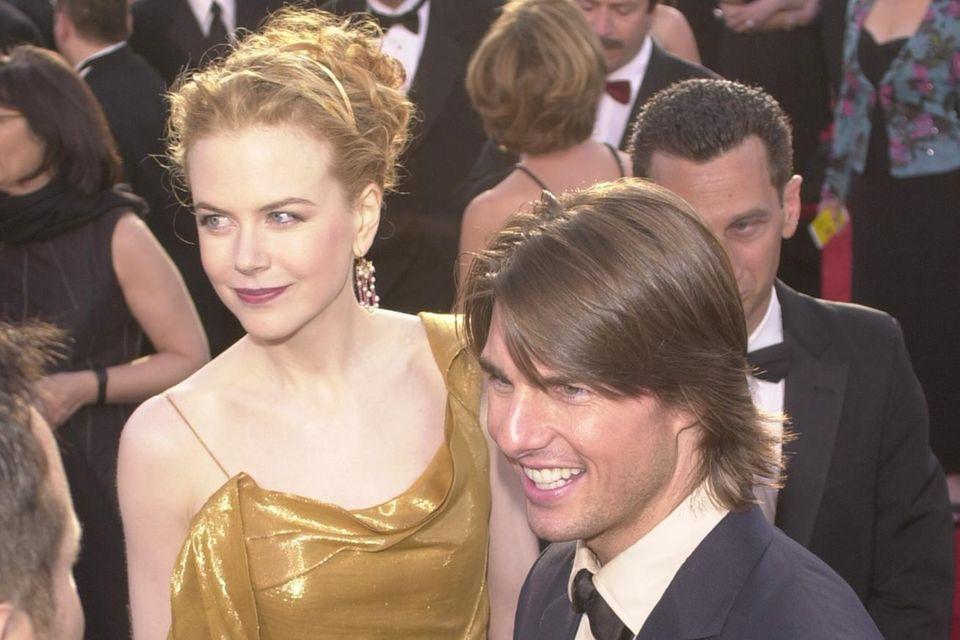 Nicole Kidman und Ex-Mann Tom Cruise bei der Oscarverleihung im März 2000.
