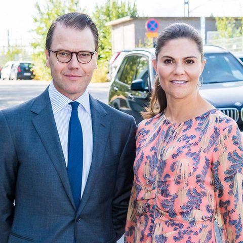 Daniel und Victoria von Schweden