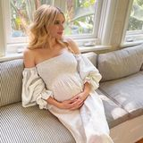 So schön setzt Emma Roberts ihren Babybauch in Szene