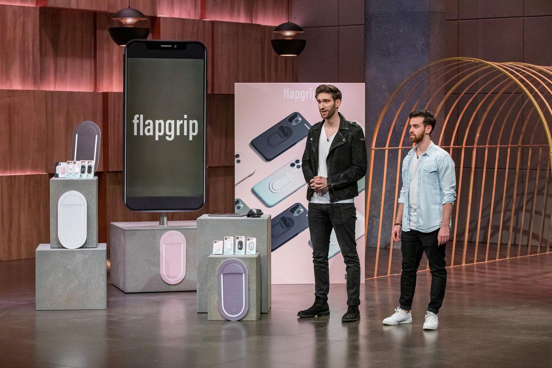 """Flapgrip, """"Die Höhle der Löwen""""-Produkt, Handy-Gadget, Smartphone-Halterung"""
