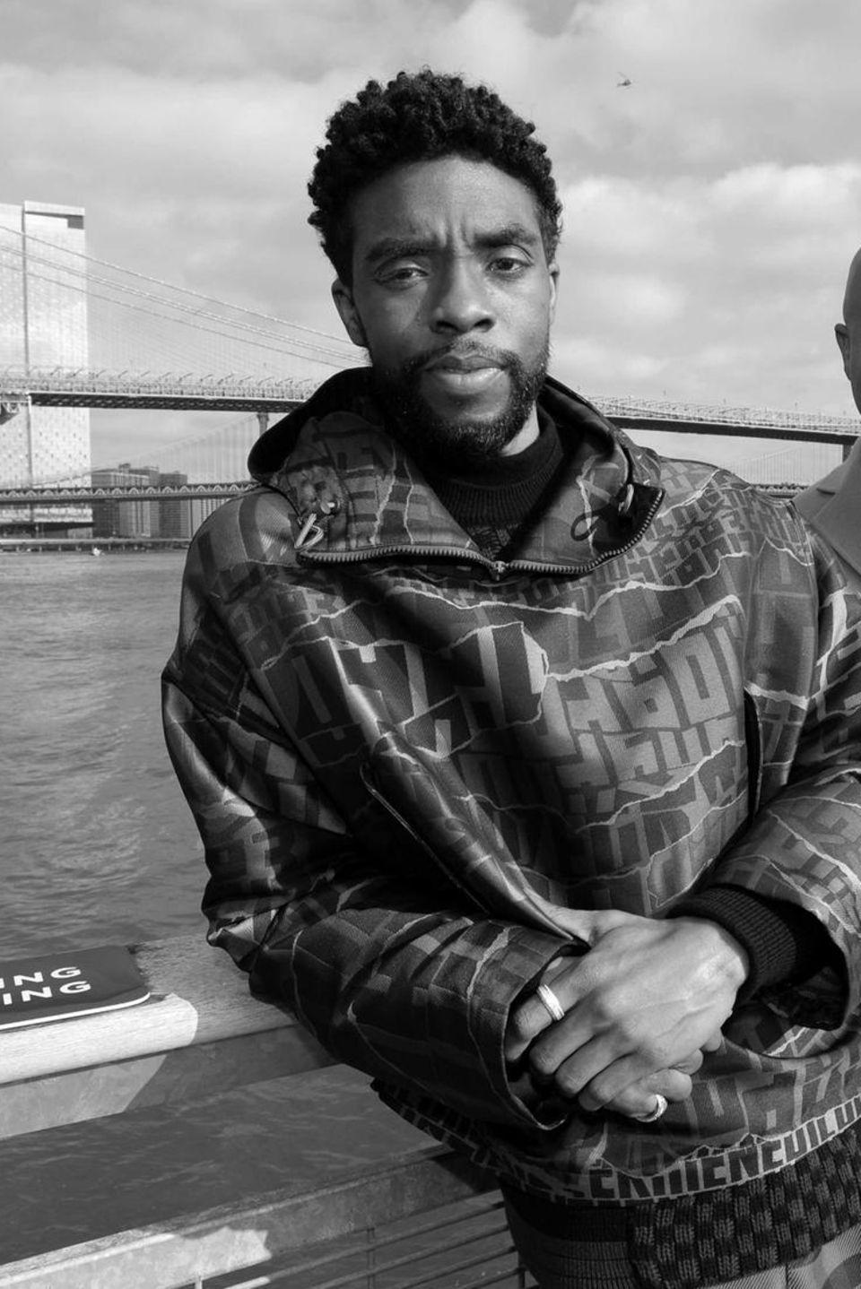 Chadwick Boseman, Schauspieler (*1977 -†2020)