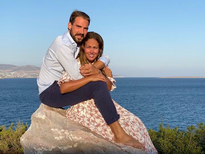 Prinz Philippos und Nina Flohr haben sich verloebt.