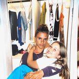 Romeos Freundin Mia gratuliert ihrem Liebsten bei Instagram gleich mit einer Reihe von Fotos zum Geburtstag, darunter auch ein lustiges Bild von Romeo mit seiner kleinen Schwester Harper.