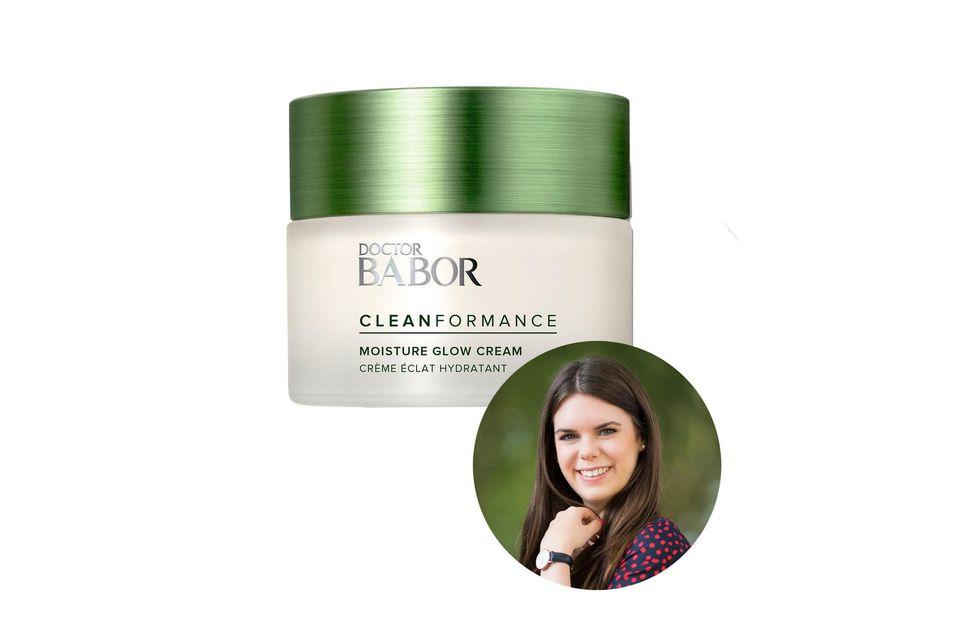 Online-Redakteurin Jessica testet die Glow Cream derCleanformance-Linie von Doctor Babor. Die Cream istfrei von tierischen Inhaltsstoffen, Gluten, Laktose, Silikon, Parabene, Mineralölen, Mikroplastik sowie synthetischen Rohstoffen.