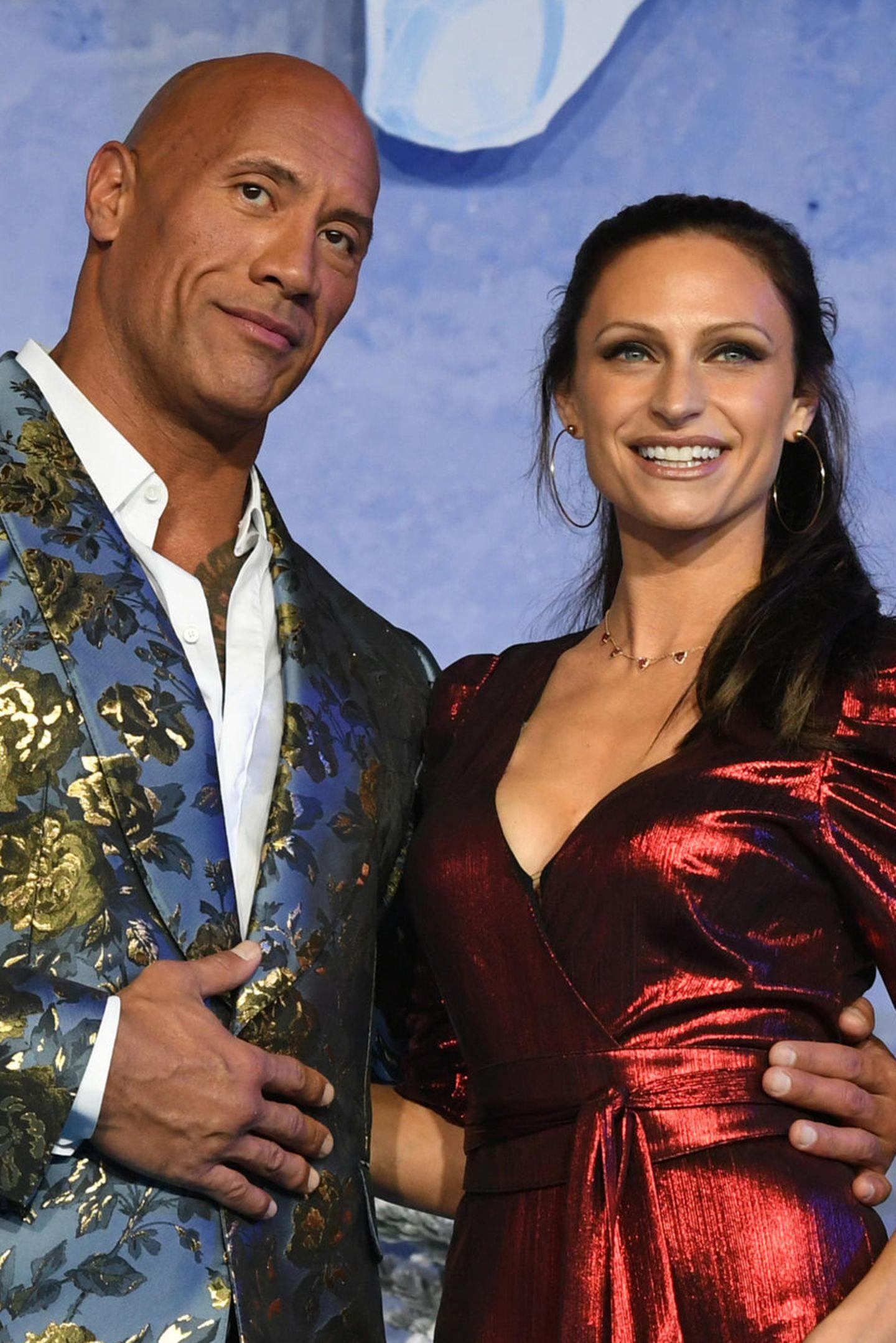 Dwayne Johnson und seine Frau Lauren