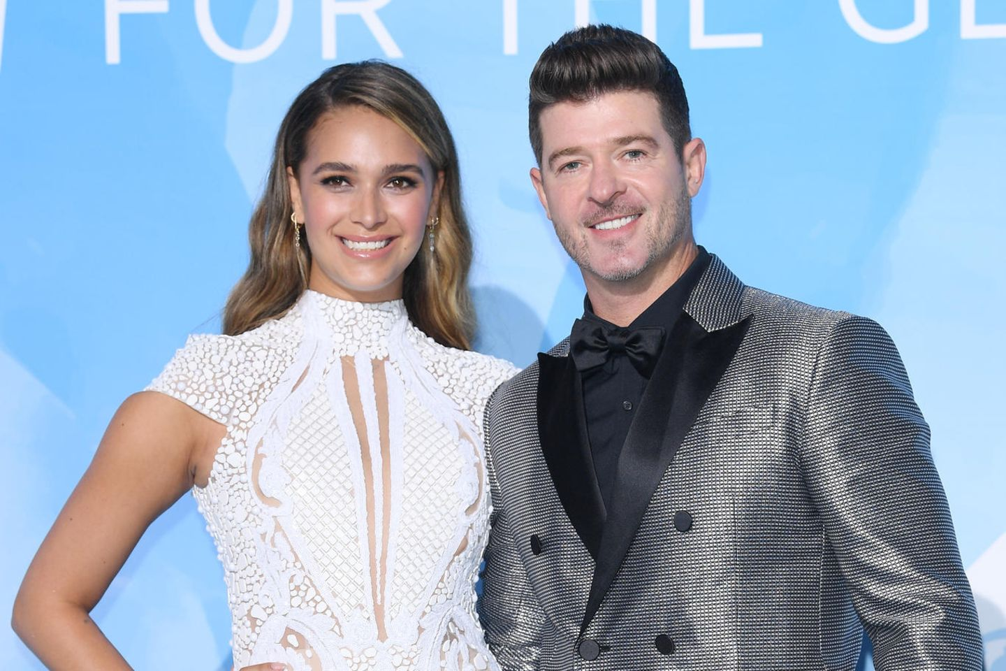 April Love Geary, Robin Thicke