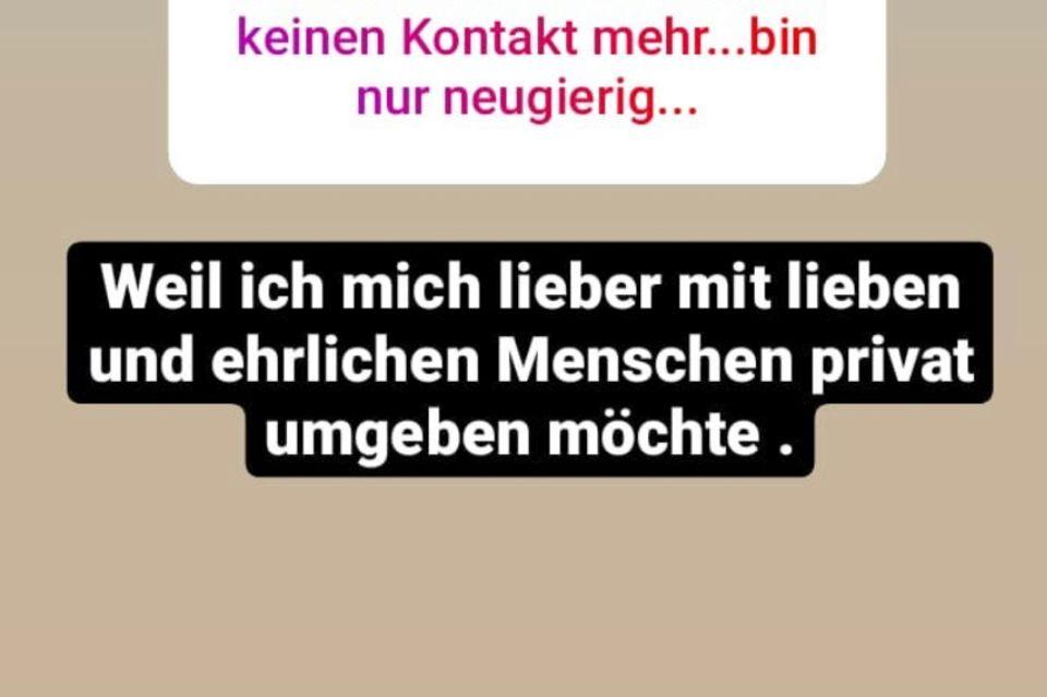 Iris Klein möchte sich privat lieber von Danni Büchner distanzieren.