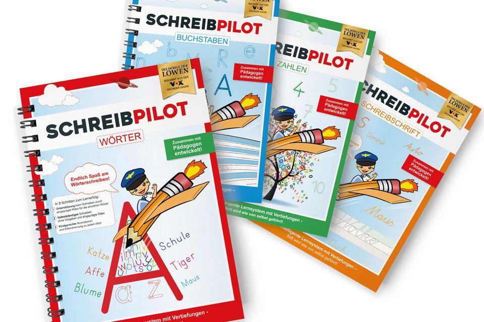 Die schönen Hefte von Schreibpilot im Überblick.