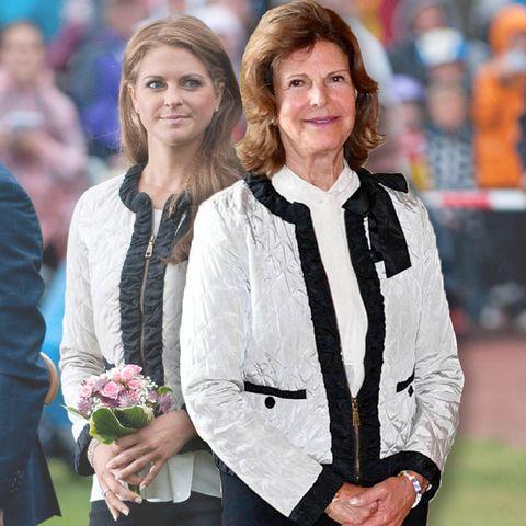 Prinzessin Madeleine, Königin Silvia