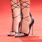 Ein Kunstwerk diese Schuhe, ein Kunststück, darauf zu stehen:Adèle Exarchopoulos kann das.
