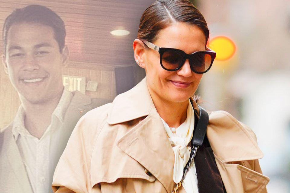 Emilio Vitolo und Katie Holmes (Foto-Collage)