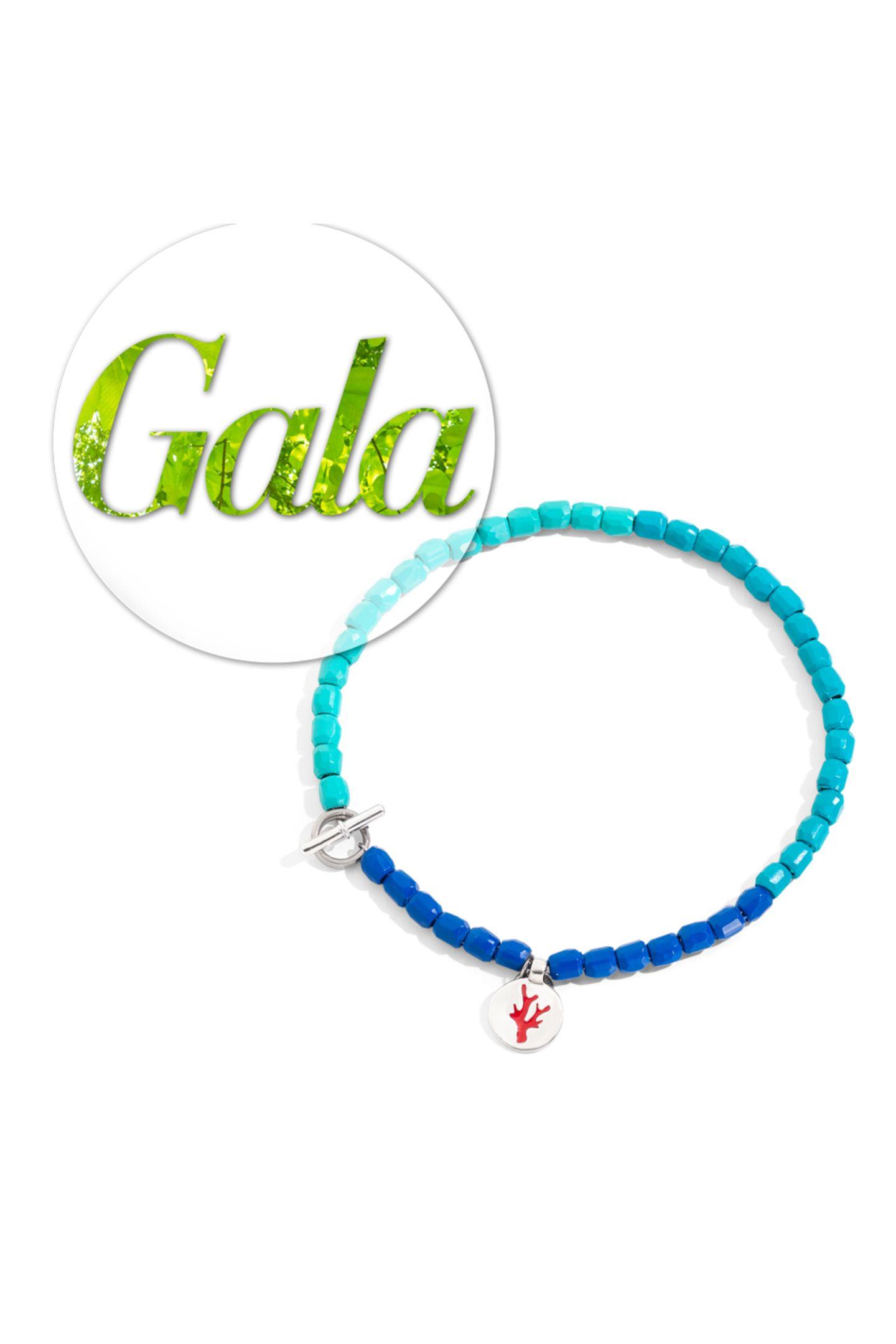 Anstatt kostbarer Materialien sind die bunten Juwelen des Tēnaka-Granelli-Armband von DoDo aus Kunststoffpolymeren gemacht, welches aus den Tiefen des Meeres gesammelt wird.Mit diesem neuen, dauerhaften Leben, das dem Kunststoffabfall verliehen wird, erstrahlen die Tēnaka-Granelli in ihrer neuen Gestalt wie der blaue Horizont, kostet 130 Euro.