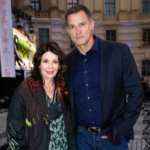 Iris Berben und Heiko Kiesow