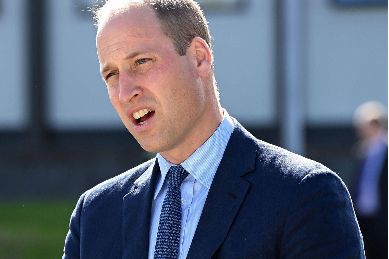 Prinz William am 9. September in Belfast.
