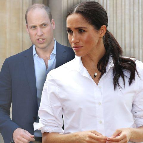 Prinz William und Herzogin Meghan trafen sich erstmals im November 2016.