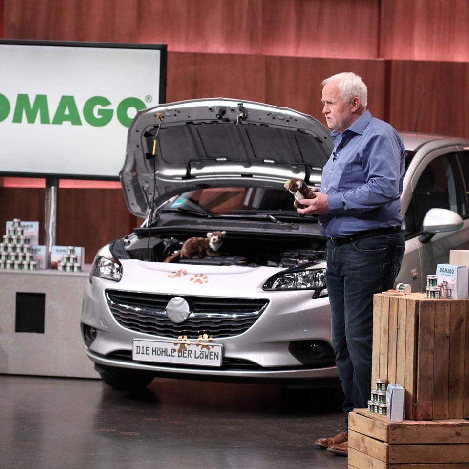 """Klaus Skottki überzeugt mit GOMAGO bei """"Die Höhle der Löwen""""."""