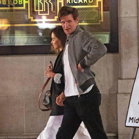 Emilia Clarke und Matt Smith bei Date gesichtet