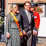 Unterstützt wird das Königspaar, wie in den Jahren zuvor, von Willem-Alexanders Bruder Prinz Constantijnund dessen Prinzessin Laurentien.