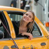 """Hallo New York! """"Victorias Secret""""-EngelJosephine Skriver dreht in der Mode-Metrople einen Werbespot für Maybelline ..."""