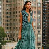 Über den Dächern von New York präsentiert das Luxus-LabelUlla Johnson die Spring-Kollektion für 2021.