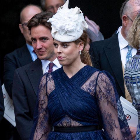 Edoardo Mapello Mozzi und Prinzessin Beatrice