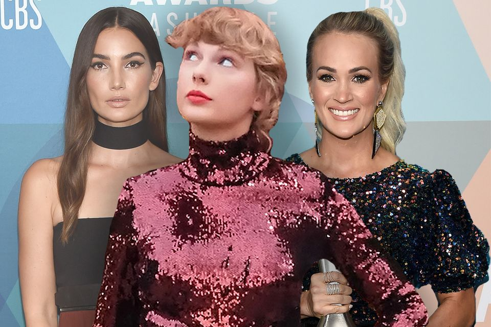 Lily Aldridge, Taylor Swift, Carrie Underwood