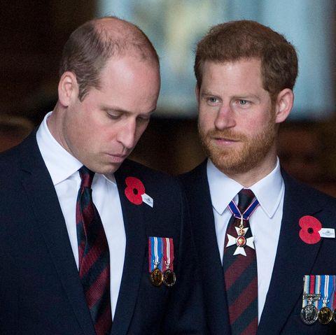 Prinz William + Prinz Harry