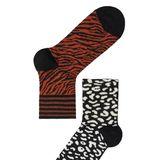 Warme Füße sind wichtig, um gesund durch den nassen Herbst zu kommen. Auch wenn man Sockenmeist nicht sieht, heißt das nicht, das man styletechnisch Abstriche machen muss. Farbenfrohe Söckchen im Animalprint von Calzedonia für ca. 4 Euro das Paar bringen uns täglich Freude.