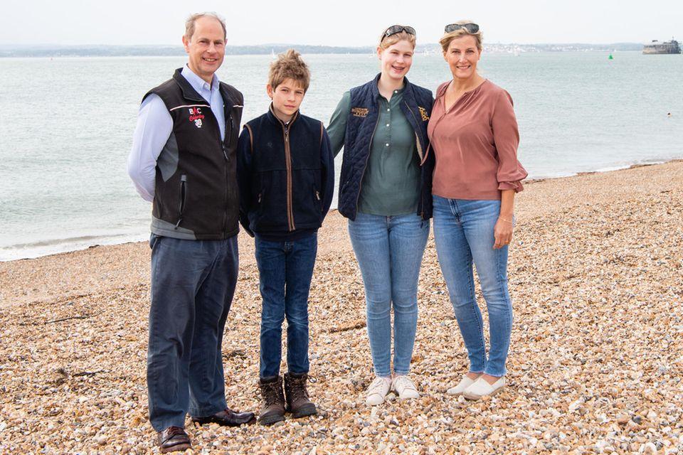 Prinz Edward, James, Louise und Gräfin Sophie